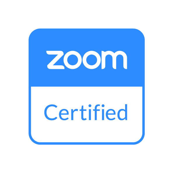 Sertified for Zoom