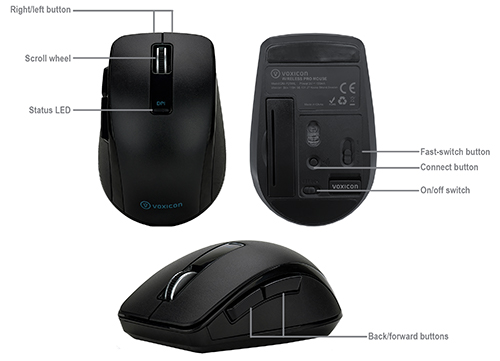 Voxicon Wireless Pro Mouse P25WL
