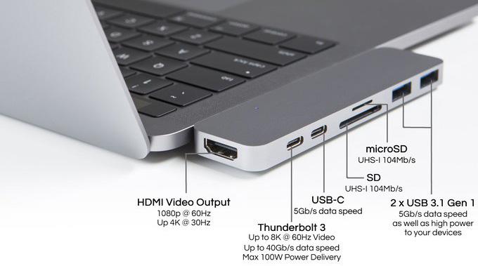 Hyper HyperDrive Compact Hub Space Grey