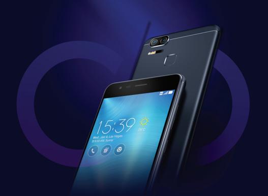 ASUS Zenfone Zoom S 64GB Dual SIM Marinebla