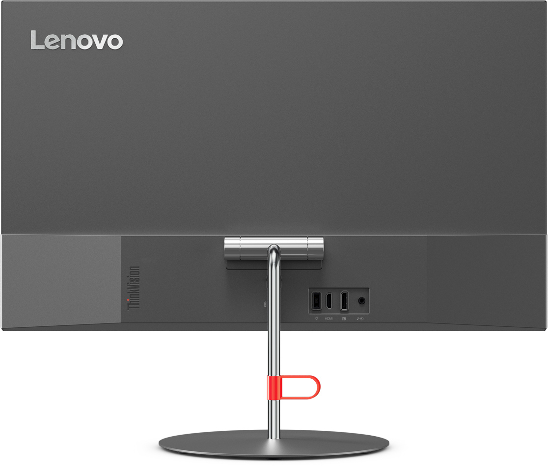 Lenovo ThinkVision X24 23.8 PC skjerm (sort) PC skjerm