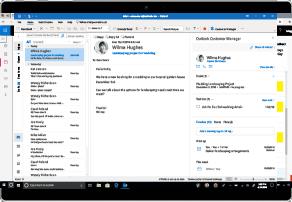 Spor og styrk dine kunderelationer             direkte i Outlook