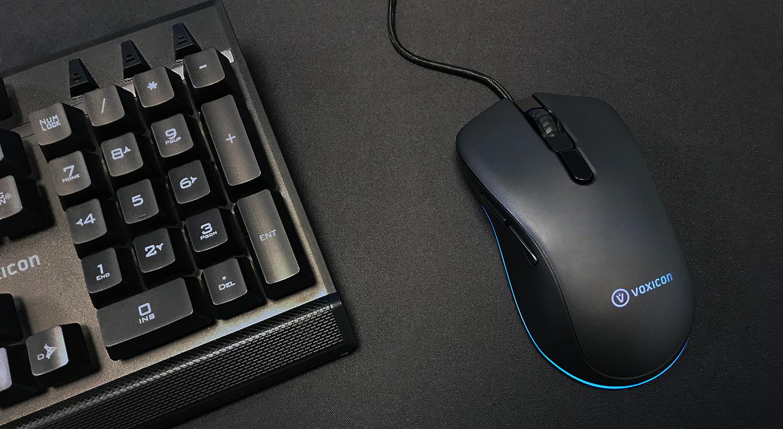 Voxicon Gaming Kit Large Kablet Tastatur Nordisk Svart
