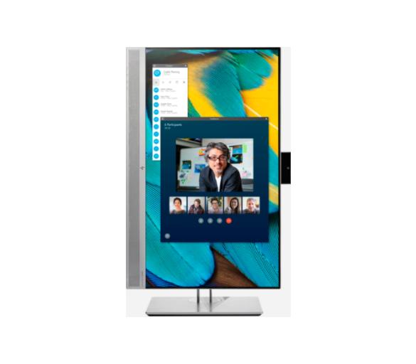 """23.8"""" HP EliteDisplay E243m IPS LED videoneuvottelunäyttö"""